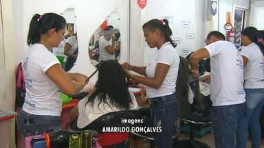 Setor de beleza é o que mais cresce em Santarém - Cursos da área recebem todos os dias novos candidatos.