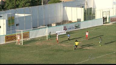 Sousa 2 x 0 Esporte - Dinossauro vence o Patinho com gols de Leílson e Manu no Marizão.