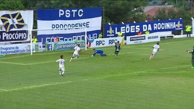 PSTC vence Coritiba e passa o Londrina no Campeonato Estadual - O time de Cornélio Procópio fez história no primeiro confronto com o Coritiba e venceu de virada por 2 a 1