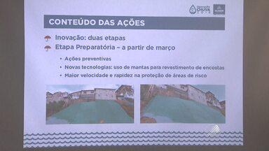 Prefeitura de Salvador lança a 'Operação chuva' - Com proximidade do período de chuvas na capital, que começa em abril, aumenta a preocupação com as áreas de risco. Nesta segunda, o governo do estado entregou obras de contenção de encostas.