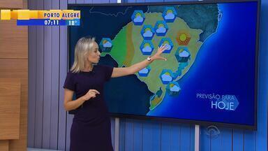 Tempo: terça-feira (2) será sem chuva na maior parte do RS - Assista ao vídeo.