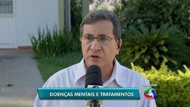 Médico fala sobre tratamento para doenças psiquiátricas - Marcos Estevão explica sintomas e importância de tratamento.