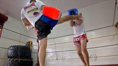 Esporte: jovem representa MS em Campeonato Mundial de Muay Thai na Tailândia - Gabriel Rodrigues tem 18 anos e luta há dois anos.