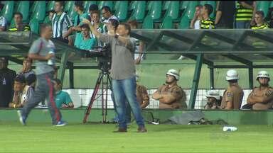 """O """"cara"""" do GE não entra em campo - Um dos responsáveis pela arrancada do Rio Branco nas últimas rodadas, técnico Leandro Niehues é o destaque da semana. Leão da Estradinha saiu da zona de rebaixamento para o G8"""