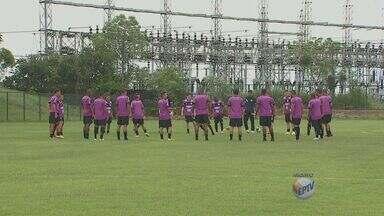 XV de Piracicaba treina para conseguir a vitória contra a Ponte Preta - Confira como esta a preparação da equipe para o jogo deste sábado (5).