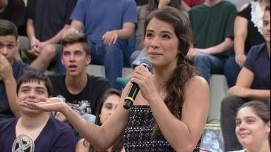 Miá Mello comenta como foi gravar o filme 'Amor em Sampa' - A atriz também revela que se emocionou muito assistindo a The Voice Kids
