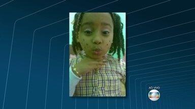 Menina de cinco anos é baleada na cabeça em São Gonçalo - Ana Beatriz estava numa festa na casa de uma tia, no bairro Santa Catarina, quando foi atingida por uma bala perdida no domingo (6)