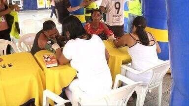 Sesc oferece serviços de saúde e beleza para mulheres no Centro de Maceió - Ações são realizadas na manhã desta quarta-feira (9).