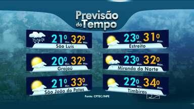 Veja como fica o tempo nesta terça-feira (8), no Maranhão - Veja como fica o tempo nesta terça-feira (8), no Maranhão.