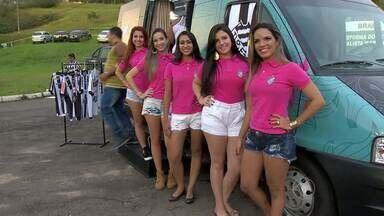 Tupi-MG apresenta candidatas a musa em 2016 - Cinco candidatas concorrem a título. Votação acontece na página do Carijó Shop no Facebook.