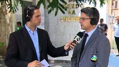 Delegado Geral de Sergipe fala sobre assaltantes - Delegado Geral de Sergipe fala sobre assaltantes.