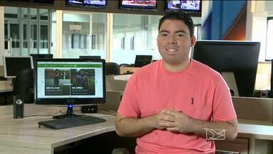 Confira as informações do GloboEsporte.com - Informações do GloboEsporte.com com Afonso Diniz