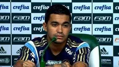 Veja na íntegra a coletiva do Dudu, do Palmeiras. - Veja na íntegra a coletiva do Dudu, do Palmeiras.