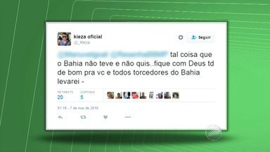 Negociação entre o Vitória e o jogador Kieza é o assunto do momento no Barradão - No próximo domingo (13) tem o clássico Ba x Vi, para apimentar ainda mais as opiniões dos torcedores.