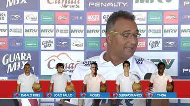 Bahia está com desfalque de sete titulares, entre eles Hernane - O técnico Doriva deve enfrentar dificuldades para fazer escalação nos próximos jogos.