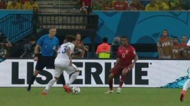 Veja o gol de Jones - Veja o gol de Jones.