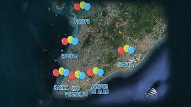 Festival da Cidade reúne grandes nomes da música em comemoração ao aniversário de Salvador - Entre as atrações do festival ,o público poderá assistir ao show de Gil e Caetano; veja programação completa.