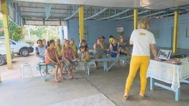 Moradores do setor chacareiro de Ji-Paraná recebem instruções sobre o combate ao Aedes - Ciclo de palestras é promovido pela Emater para o combate em casa ser intensificado.