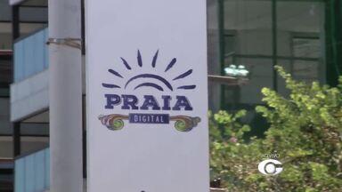 Projeto Praia Digital oferece internet banda larga gratuita na Orla de Maceió - Mais de nove pontos foram inaugurados entre as praias da Ponta Verde e Pajuçara.