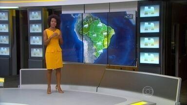 Previsão é de pouca chuva em SP neste sábado (12) - Meteorologia prevê chuva na Bahia, Sergipe e Alagoas. Veja a previsão do tempo para todo os país.