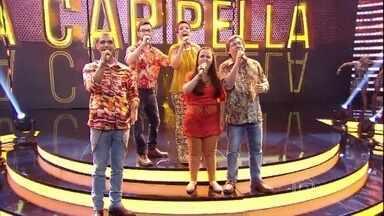 Grupo Vocal5 arrasa com 'Canção de Verão' - Cantores se apresentam em semifinal do 'A Cappella'