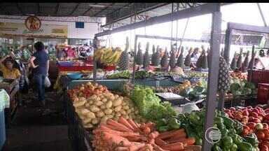 Com preços da cesta básica em alta, valor de produtos na Ceapi caem - Com preços da cesta básica em alta, valor de produtos na Ceapi caem
