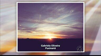 Telespectadores enviam fotos do amanhecer pela Paraíba - Todos os dias as fotos são exibidas no Bom Dia Paraíba.