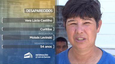 Pessoas de todo o estado procuram por parentes desaparecidos - Estes depoimentos foram exibidos durante a programação da RPCTV