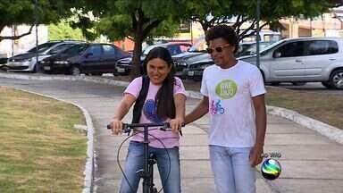 Projeto orienta pessoas que estão aprendendo a andar de bicicleta - Projeto orienta pessoas que estão aprendendo a andar de bicicleta.