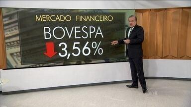 Notícia de que Lula pode virar ministro traz incertezas no rumo da política econômica - A notícia de que Lula pode virar ministro traz incertezas no rumo da política econômica. Mercado Financeiro: BOVESPA teve queda de 3,56%.
