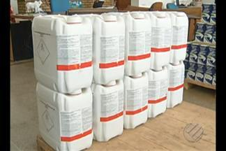Em Redenção, foi inaugurado um posto de recebimento de embalagens de defensivos agrícolas - O material vai ser destinado para reciclagem. O serviço vai atender aos agricultores de todo o sul do estado.