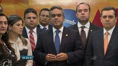 OAB do Ceará reúne advogados em Fortaleza para apoiar investigações da Operação Lava Jato - De acordo com presidente da OAB Ceará, Marcelo Mota, a categoria defende o prosseguimento das investigações a favor do fim da corrupção
