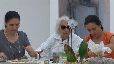 Aos 101 anos, Lêda Gontijo expõe trabalhos em galeria de Belo Horizonte - A artista plástica participou da primeira turma do mestre Guignard, que contribuiu para a consolidação da arte modernista na capital mineira.