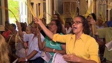 Domingo de Ramos é celebrado em Aracaju - Domingo de Ramos é celebrado em Aracaju.