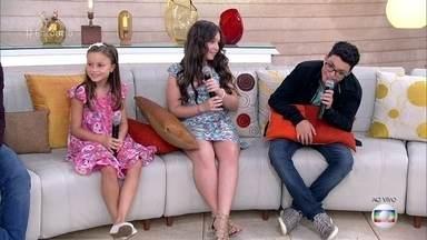 Pérola, Rafa e Wagner falam sobre o papel da música em suas vidas - Finalistas do 'The Voice Kids' contam que vivem cantando e chegam a irritar os familiares