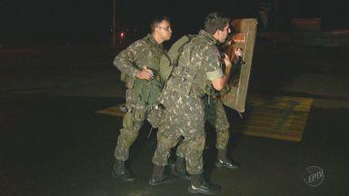 Exército faz simulação em Campinas para as Olimpíadas 2016 - Os jogos olímpicos acontecerão no Rio de Janeiro.