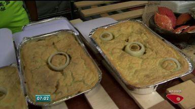 Festival da Torta Capixaba começa nesta quinta-feira, no ES - Evento espera atrair milhares de pessoas, até o domingo (27).Festival conta com 30 expositores e culinária de frutos do mar.