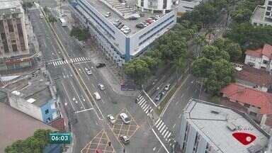 Confira as informações do trânsito na Grande Vitória nesta quinta-feira (24) - Imagens foram exibidas no Bom Dia ES.