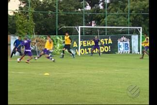 Remo treina em Manaus para enfrentar o Nacional - Remo treina em Manaus para enfrentar o Nacional