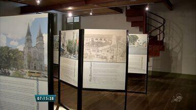 Exposição de fotos leva visitantes em viagem pelo tempo através dos trilhos - Fotos ficam expostas até 30 de maio, no Museu da Indústria, no Centro.