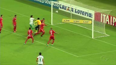 Fora de casa, Coruripe arranca empate com o América-RN - Jogo terminou 1 a 1 na Arena das Dunas.