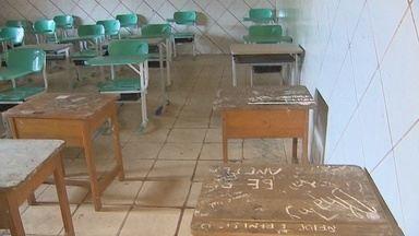 Escolas em Macapá sofrem com falta de estrutura com início do ano letivo - Escolas em Macapá sofrem com falta de estrutura com início do ano letivo