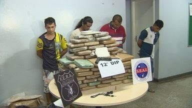 Polícia prende quadrilha suspeita de tráfico de drogas em Manaus - Veja as principais ocorrências no AM TV.