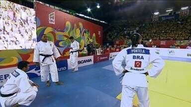 Brasil enfrenta a Mongólia no Desafio Internacional de Judô em São Paulo - Flávio Canto e Alex Escobar apresentam o Desafio Internacional de Judô em São Paulo com cinco grandes atletas da seleção brasileira de judô.