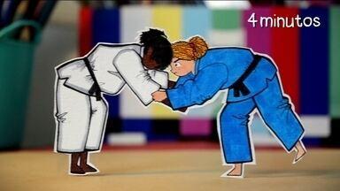 Pintando os Jogos Olímpicos: conheça mais a origem do Judô - Em 1880, o mestre Jigoro Kano criou o Judô pela tradição e a disciplina no Japão.