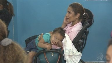 Pais têm dúvidas sobre funcionamento do Centro de Referência da Saúde da Criança - Unidade foi inaugurada em Porto Velho.