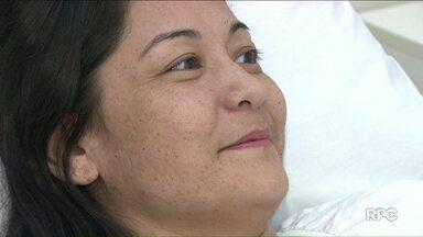 Conheça a história da mulher que quase teve o pé amputado após acidente - Reportagem exibida no ano passado ajudou os médicos a buscarem alternativa à amputação do membro