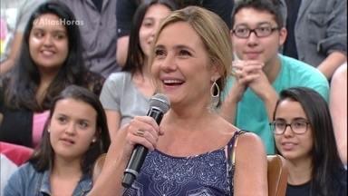 Adriana Esteves fala sobre novela em que conheceu Vladimir Brichta - A atriz relembra de Amelinha em Coração de Estudante