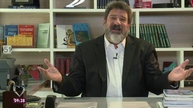 Mário Sérgio Cortella fala da importância de se ter um plano B na vida - Filósofo explica como se deve traçar uma estratégia para que se viva com uma alternativa para a carreira