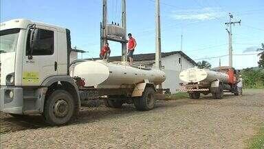 Mesmo com chuvas, algumas cidades do Ceará ainda dependem do carro-pipa - NE Rural acompanha abastecimento de água em casas no interior do Ceará.